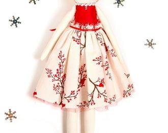 Winter Bird Décor Doll 2 (ready-to-ship)